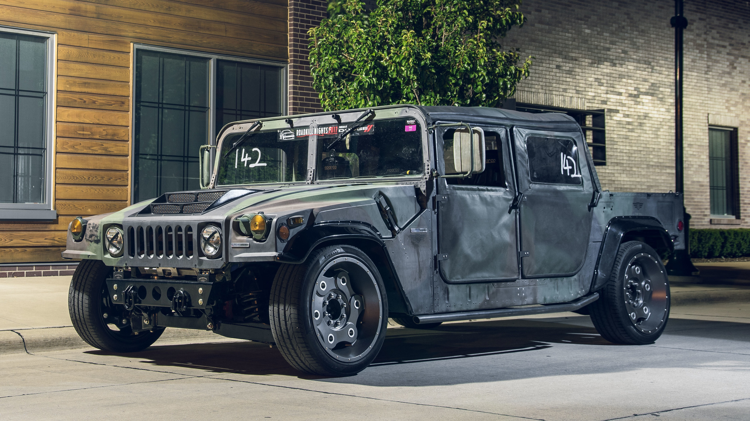 Non-Standard Equipment: Yes, That's A Track-Ready HMMWV, And It Rules!
