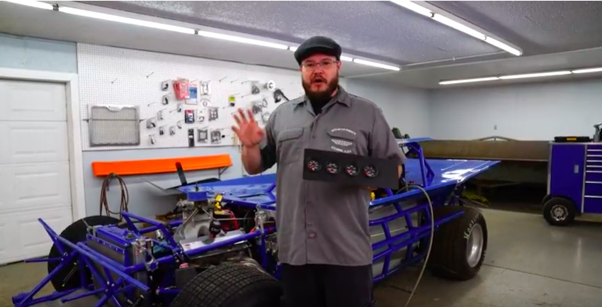 AutoMeter Video: The Install of AutoMeter Extreme Environment Gauges In A Dirt Late Model Is Cool