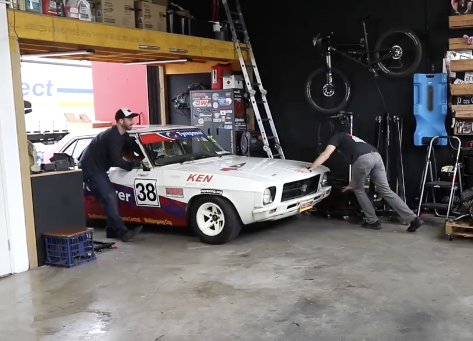 BangShift com MCM Bought A Classic Race Car! Check Out Their