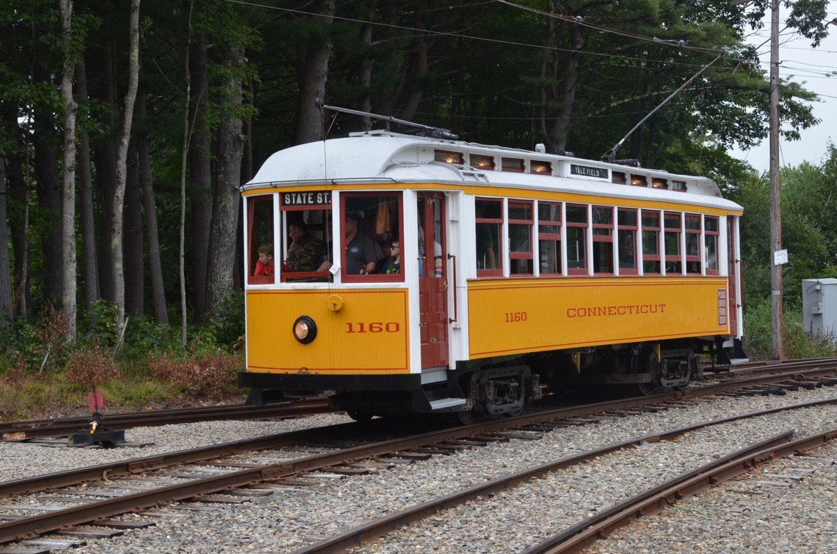 Historic Car Photos: Maine's Seashore Trolley Museum Is An Awesome Look Into The Past
