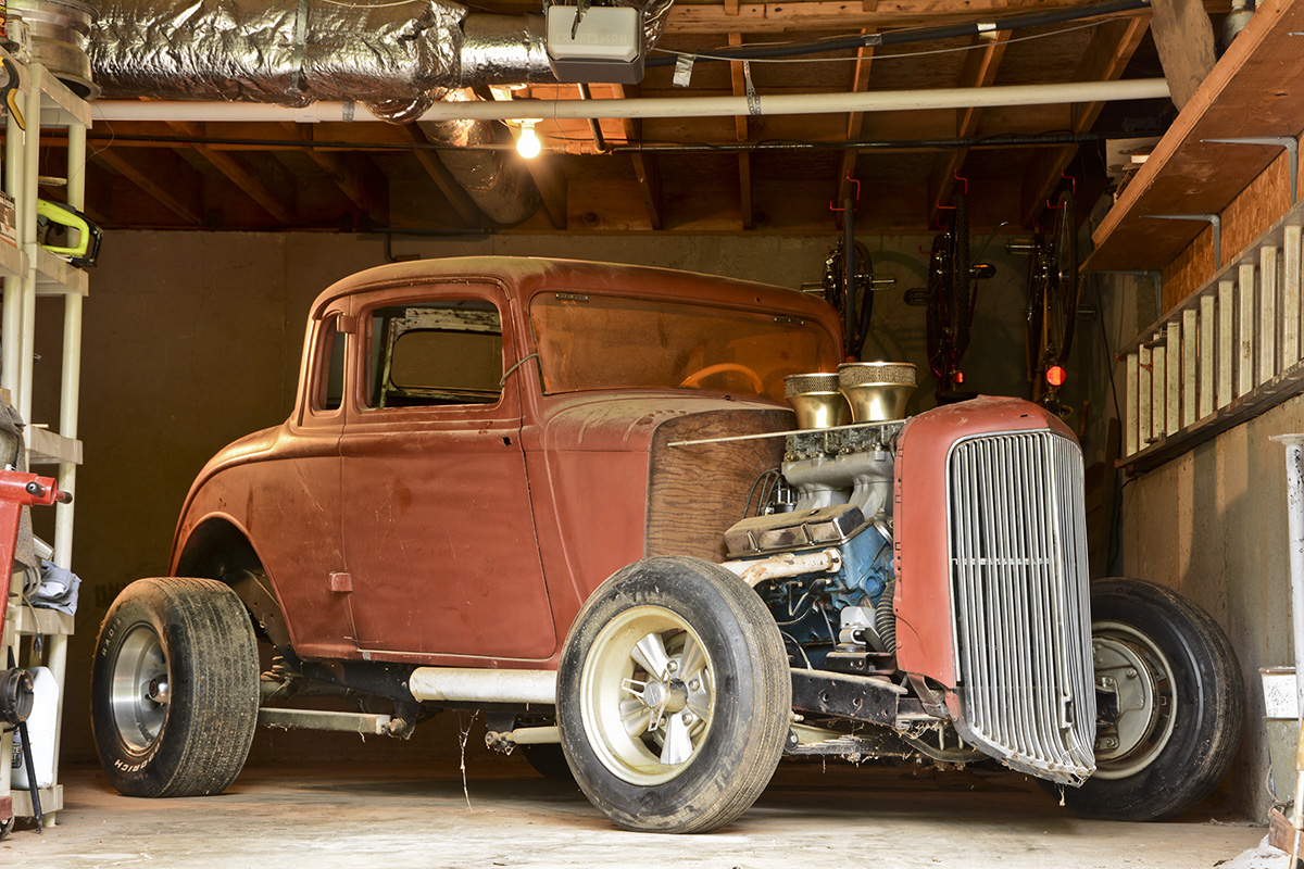 Awesome Video: Saving A 1934 Plymouth Hot Rod That Was Hidden In The Basement For Decades!