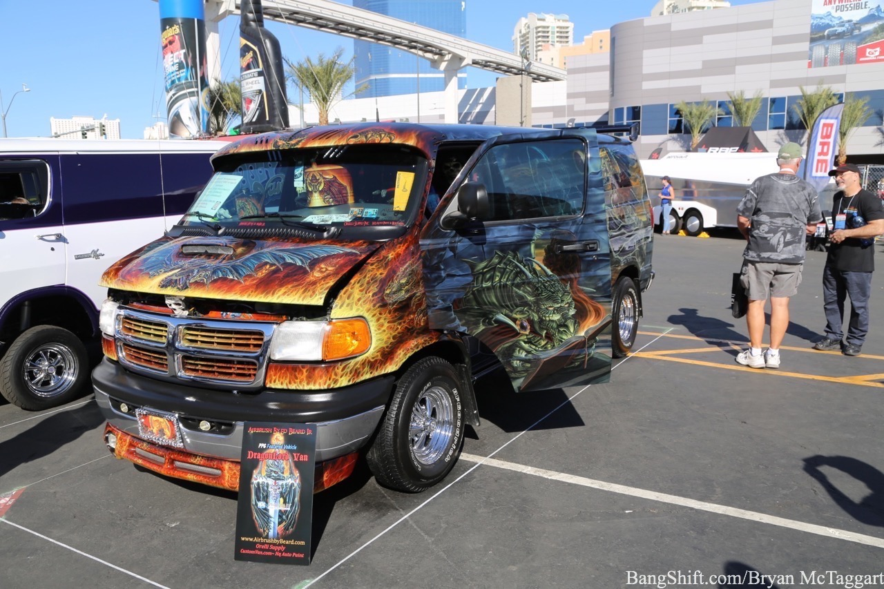 SEMA 2018: Did You Ever Expect Custom Vans To Return?!