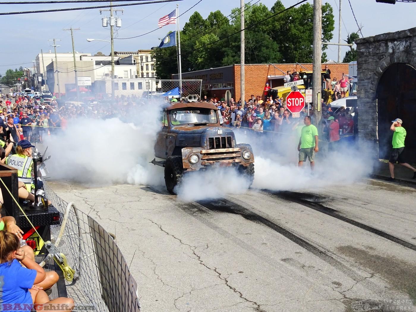 2018 Cynthiana Rod Run Burnout Contest Action Photos: Tire Smoking Fun in Kentucky!