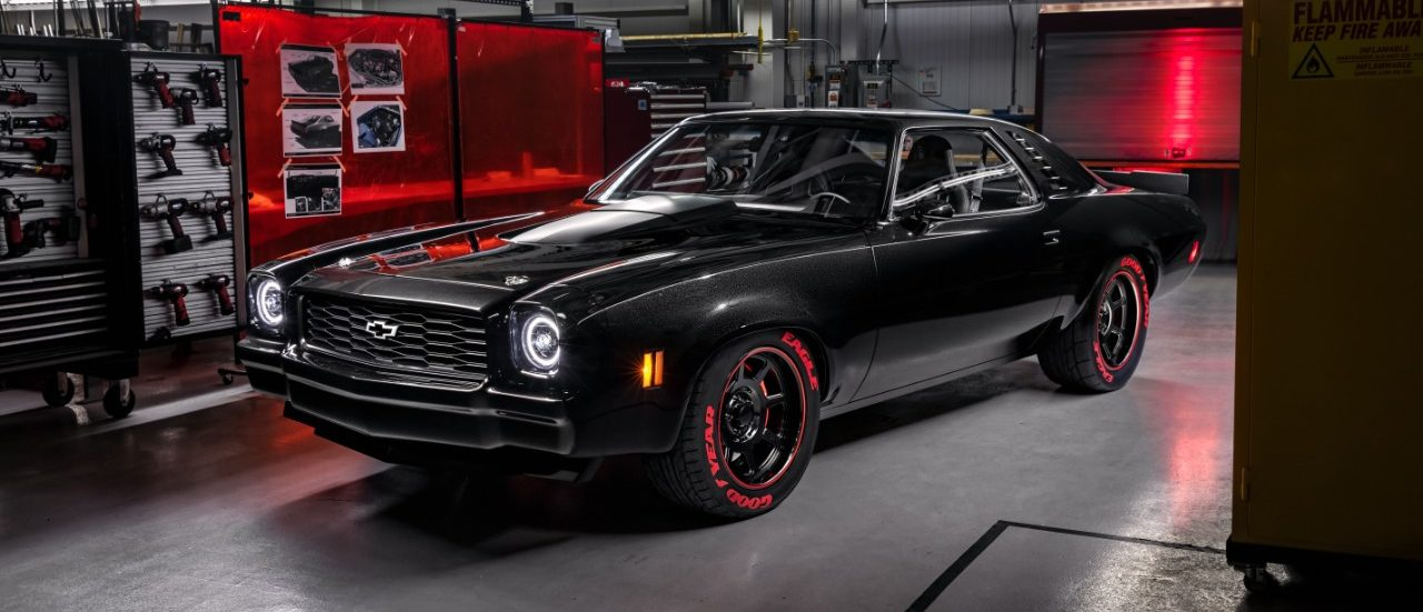 SEMA 2018 Preview: Chevrolet Performance Engine-Swap Display Vehicles Include This Sick 1973 Laguna!
