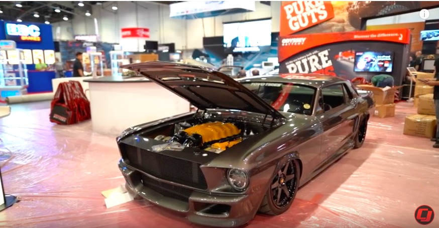 SEMA 2018 Coverage: This Visual Feature on The Corruptt Mustang Rules – Twin Turbo Ferrari Power