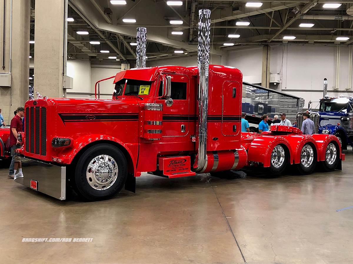 Big Rigs, Big Rigs, And More Big Rigs From The Great American Trucking Show In Dallas
