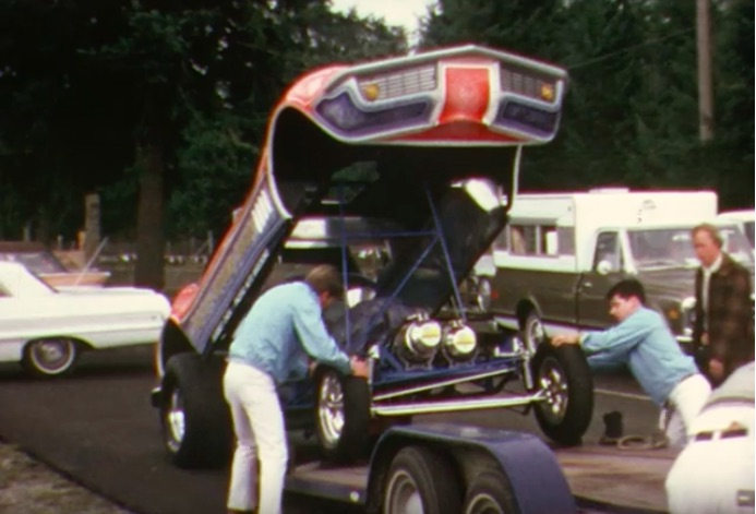 This Color Video From Seattle International Raceway In The Early 1970s Is Spectacular – Funny Cars!