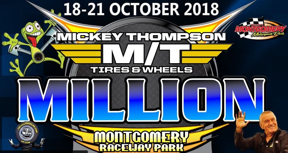 The Mickey Thompson Million Dollar Bracket Race Is LIVE Right Here!