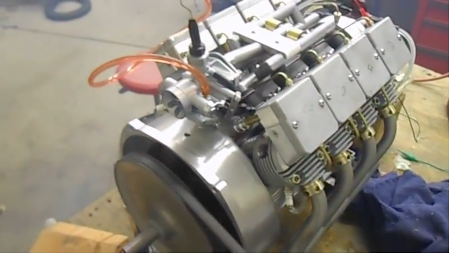Awesome Miniature Engine Video: Watch This 392cc Air-Cooled V8 Fire Up and Run!