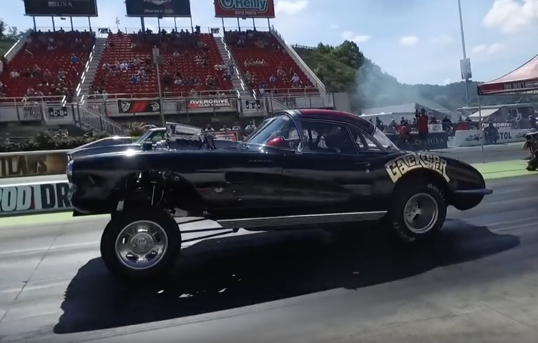 How It Should Be: A C1 Corvette Gasser That Anyone Should Be Proud To Own