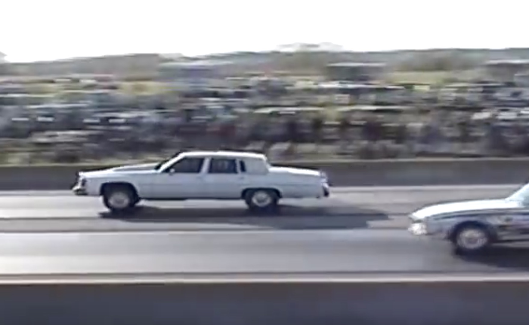 Classic YouTube: A Ten-Second Cadillac Fleetwood That Gets Jumpy At The Launch!