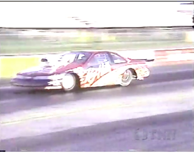 In 1995 Dave McClelland Raced A Pro Stocker For Fun! This Video Is Rad!