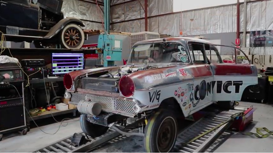 Cool Dyno Video: This Aussie Gasser Uses A Supercharged Ford Crossflow Inline Six To Make Decent Power!