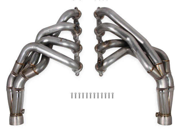 New Tube: Hooker BlackHeart C5 Tri-Y Long Tube Headers Are A Bolt-On Fit For More Horsepower!