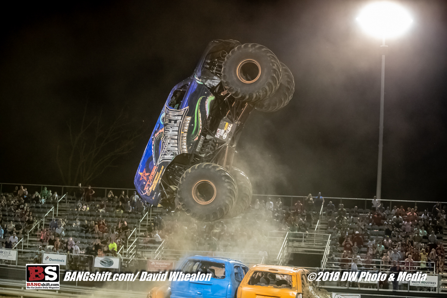2018 GALOT Motorsports Park Monster Truck Throwdown Action Photos – High Flyin' Fun With Awesome Trucks