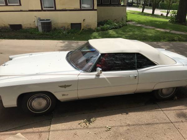 Craigslist Find: This Indy Pace Car Edition 1973 Cadillac Eldorado Convertible Could Be Yours!