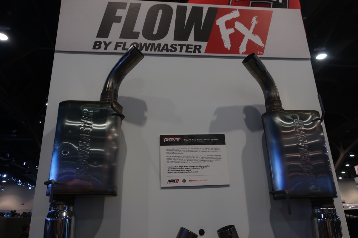 SEMA 2018: Our Pals At Flowmaster, B&M, and Hurst Had Loads Of Cool Stuff To See!