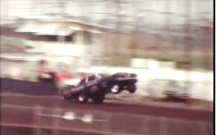 Video: Awesome Action From Lions Drag Strip Back In 1966 – Wheels Up, Tire Smoking Fun