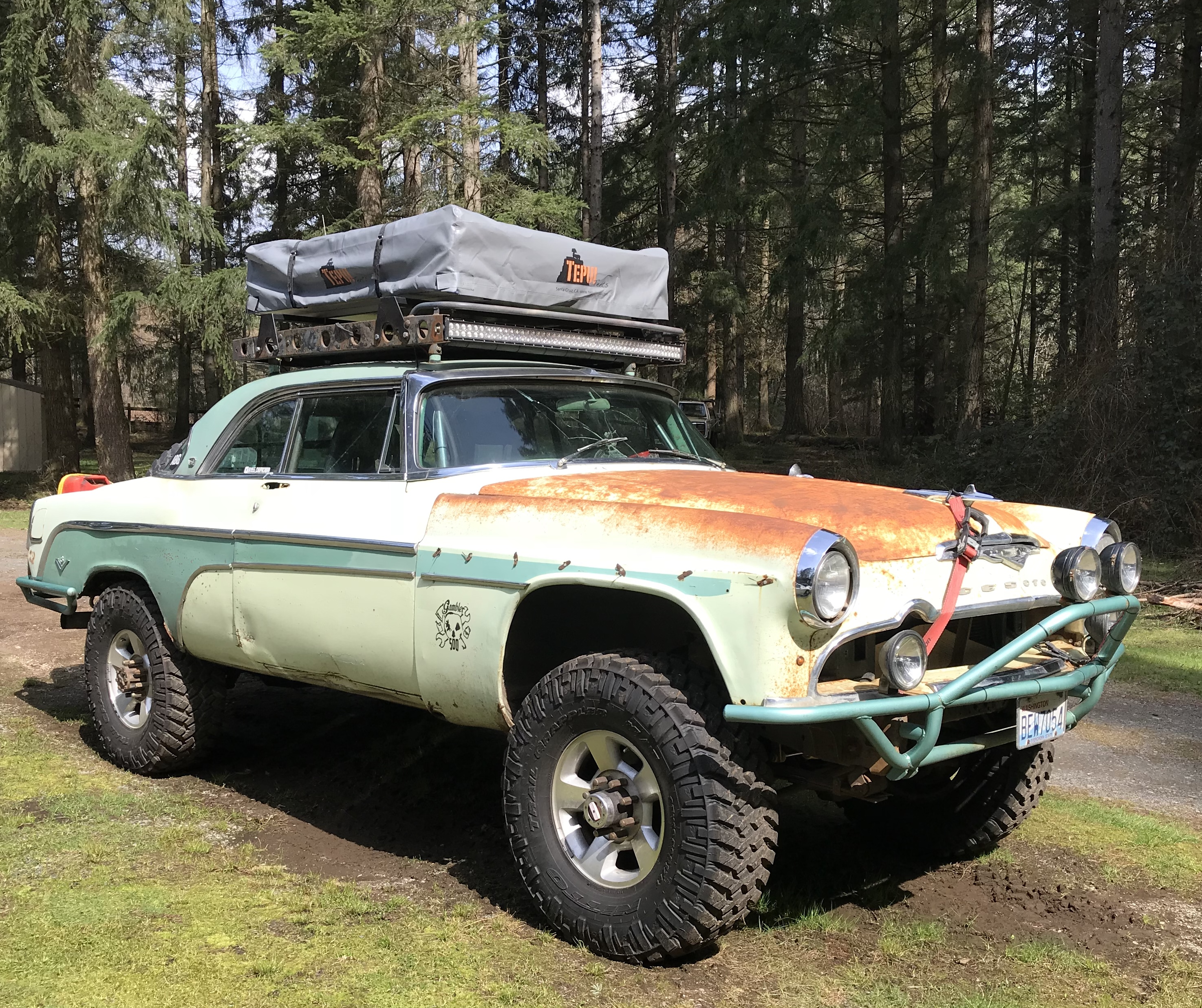 Meet Chupacabra, A 1955 Desoto Fireflite That Is Off-Road Perfection. Wait, What?