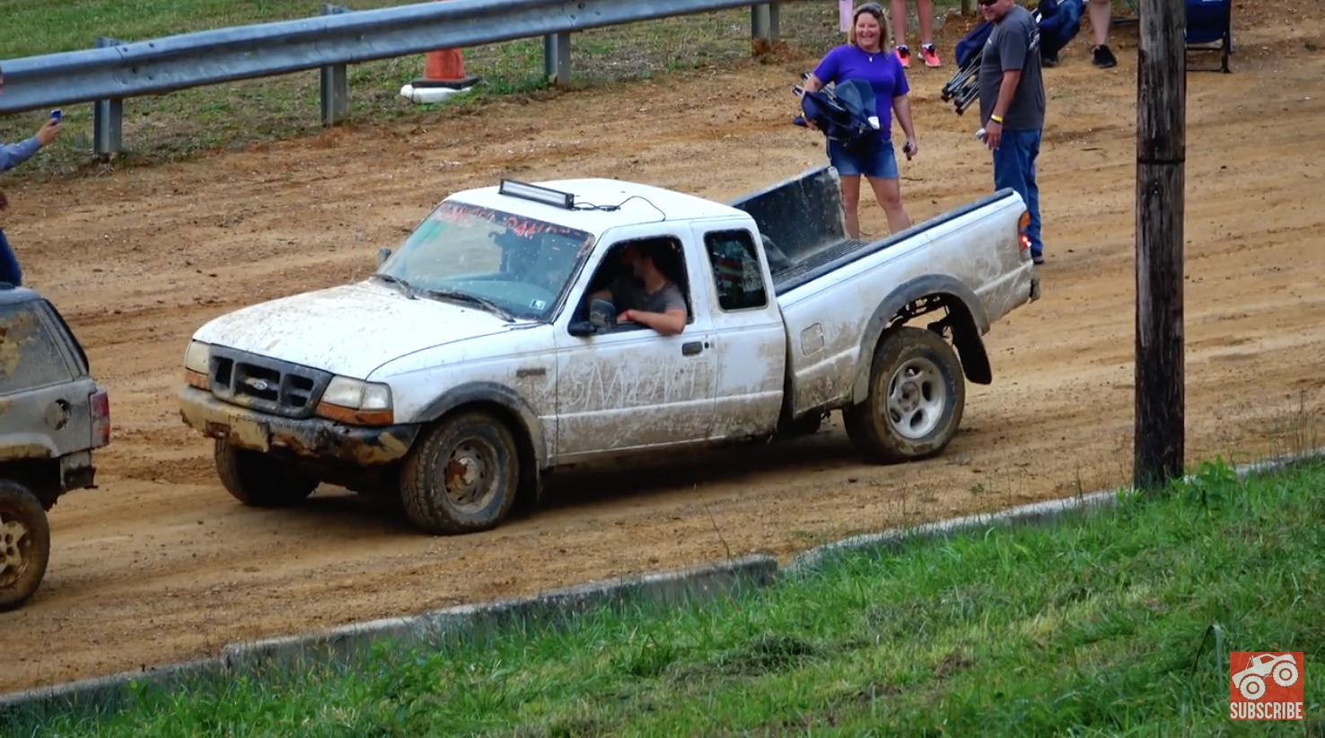 Stop! It's Already Dead: This Ford Ranger Takes A Brutal Beating At A Tough Truck Course!