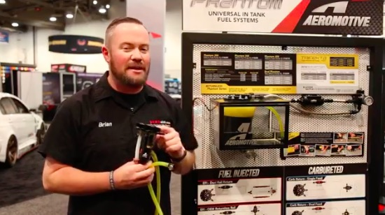 Cool New Product Video: The Aeromotive Phantom Apex Keeps You Fueled With Jet Siphon Technology