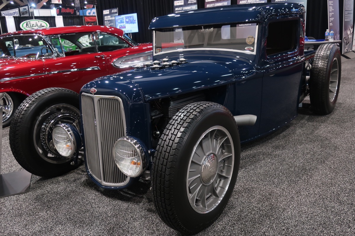 1934 ford truck by jason graham hot rods sema 2018. Black Bedroom Furniture Sets. Home Design Ideas