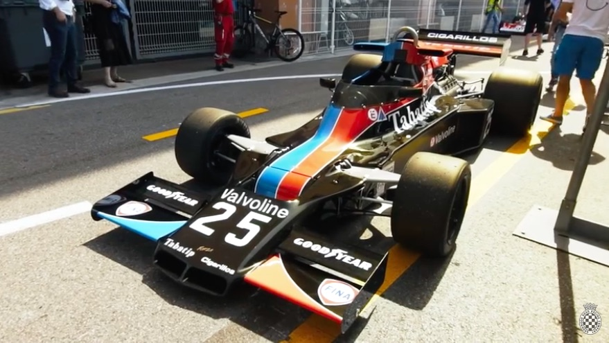 Sexy Turkey: Check Out This Awesome 1970s Shadow DN5B F1 Car At Monaco