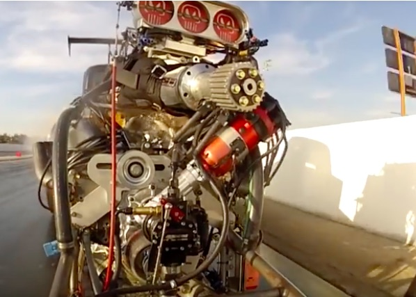Nitro-Splosion Video: Watch A Blown, Fuel Burning Big Block Explode With Fury At The Top End
