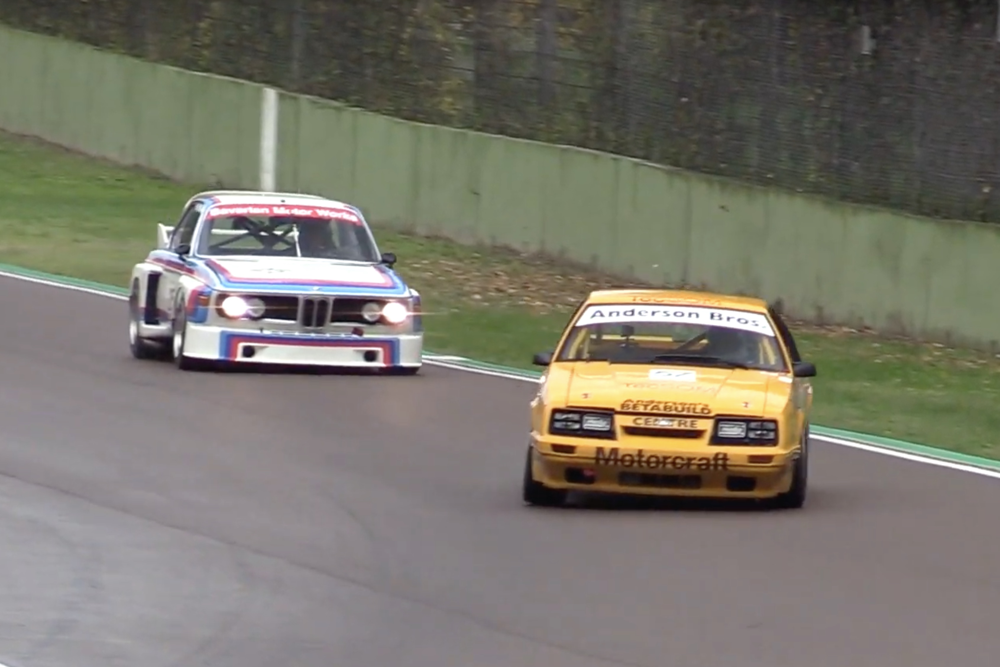 Moist Turkey: Rooster Tails And Race Cars From The Imola Classic!