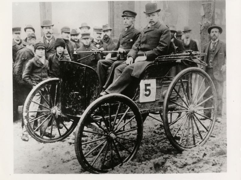 Aged Turkey: The 1895 Chicago Times-Herald Motocycle Race: America's First Automobile Competition