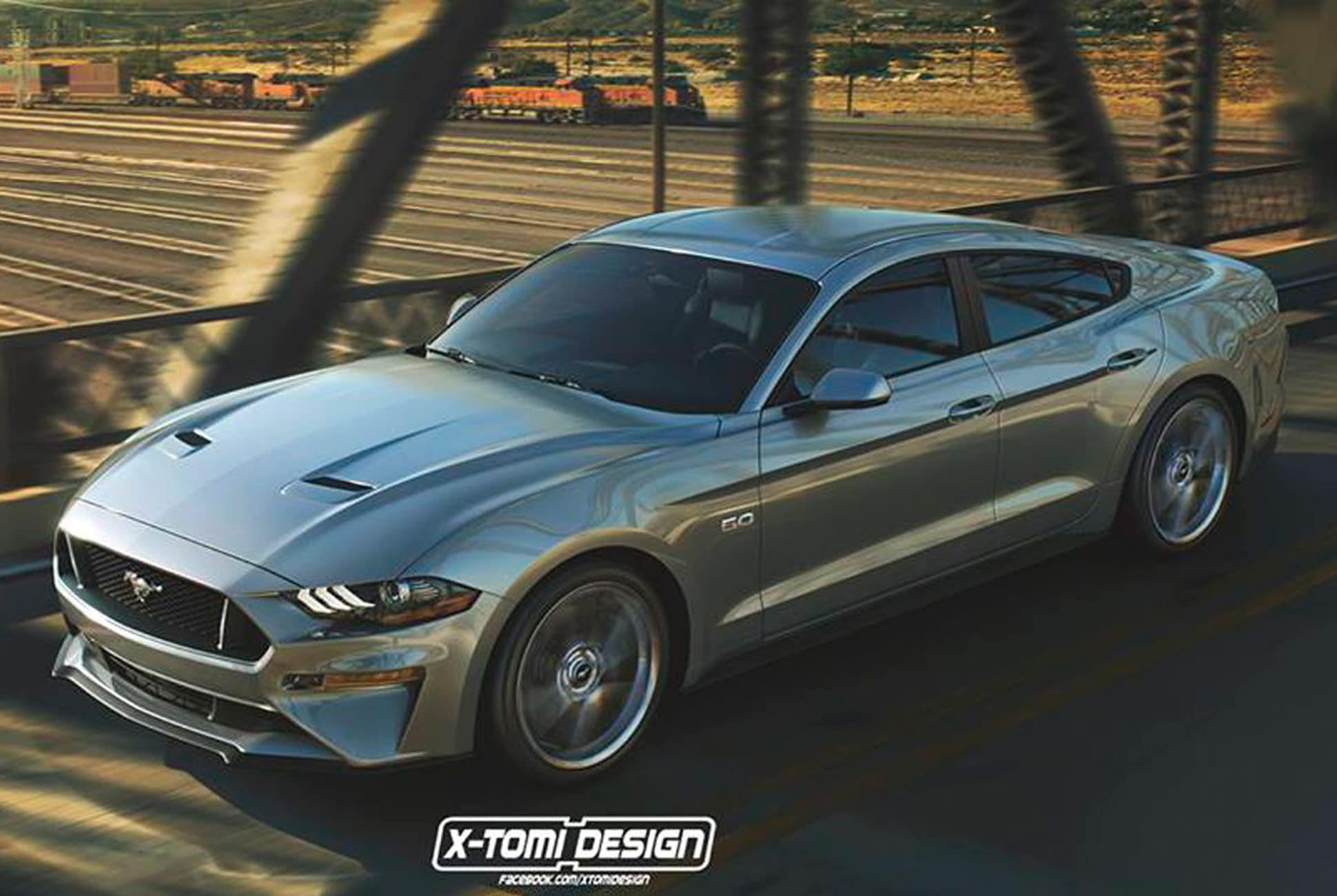 BangShift Question Of The Day: Is There Room For A Four-Door Ford Mustang Now?