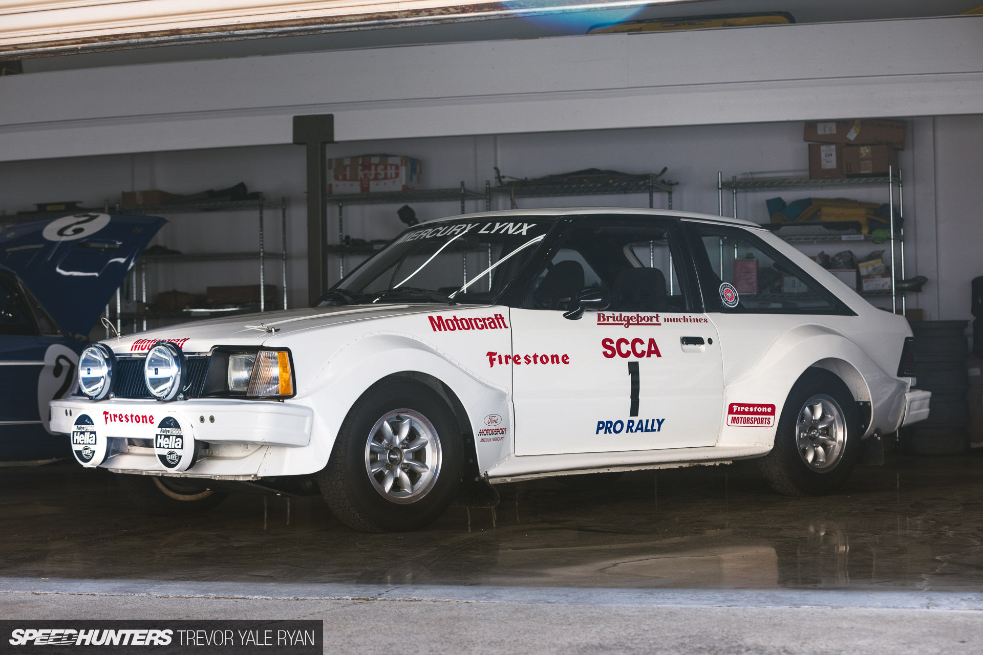 So, So Close To Right: A RWD-Converted, Cosworth-Powered Mercury Lynx SCCA Pro Rally Factory Machine!