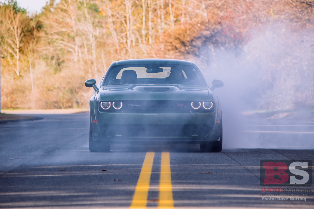 BangShift Test Drive: 2019 Challenger R/T Scat Pack Widebody – 485hp, Fender Flares, Tire Smoke, and True Muscle Car Spirit