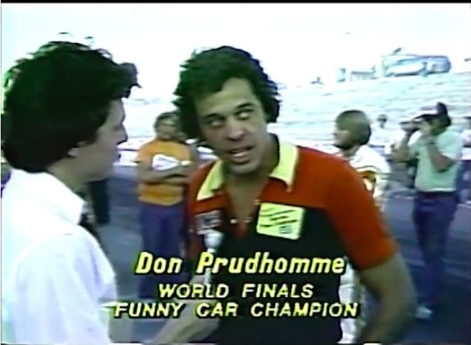 Vintage Video: This News Report From The 1981 AHRA World Finals Is Cool!