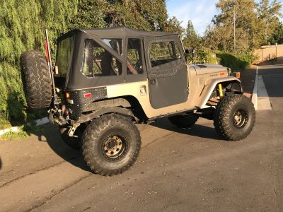 BangShift com This LS Swapped Toyota FJ40 Land Cruiser Could Be Your