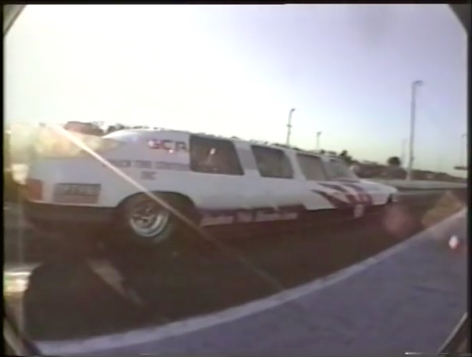 The Other Racing Long Car: Check Out This 1980s Film Of Jim Jet Nelson's Jet Limo At Great Lakes Dragaway