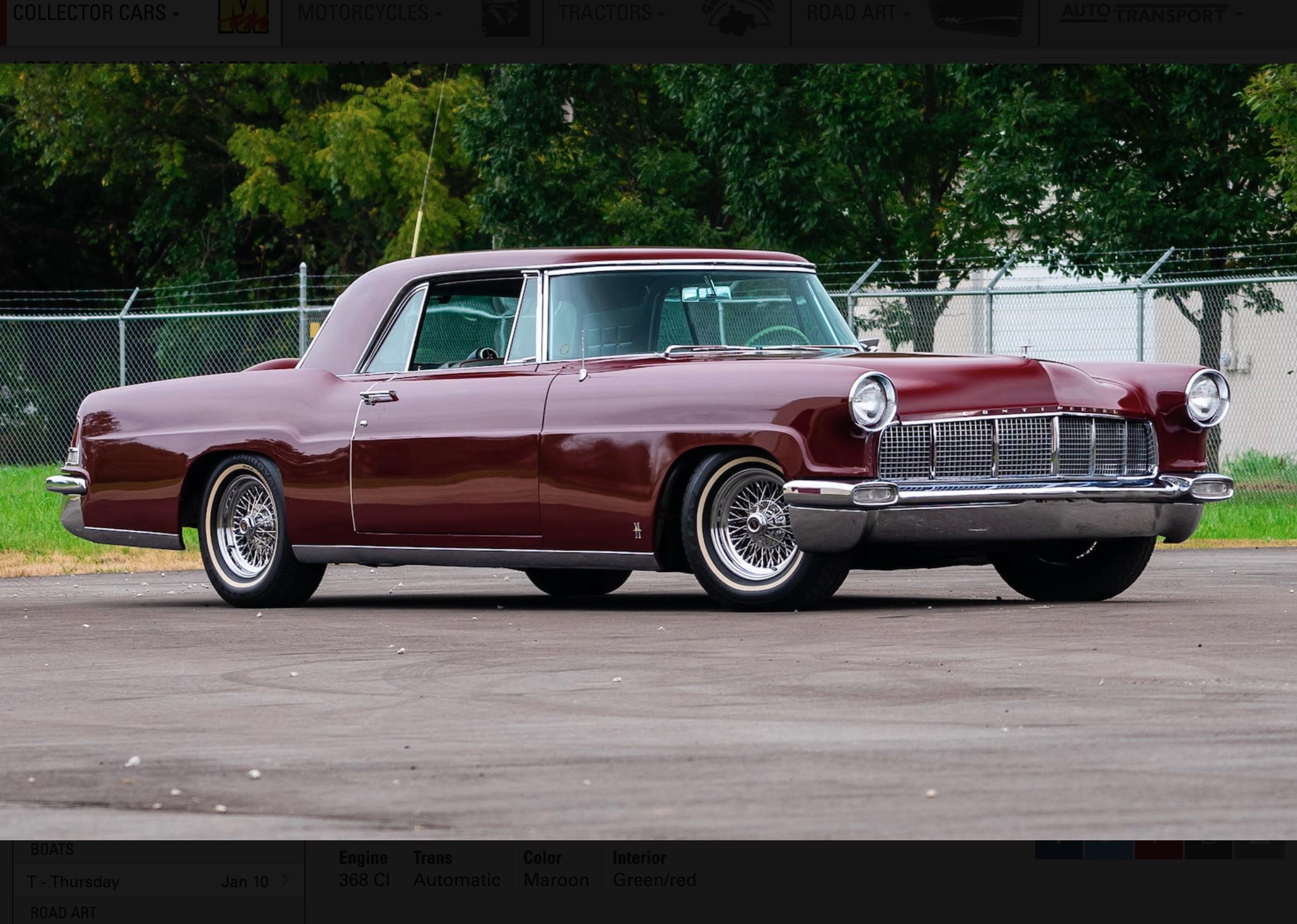 Money No Object: 1956 Continental Mark II – Hand-Built American Luxury