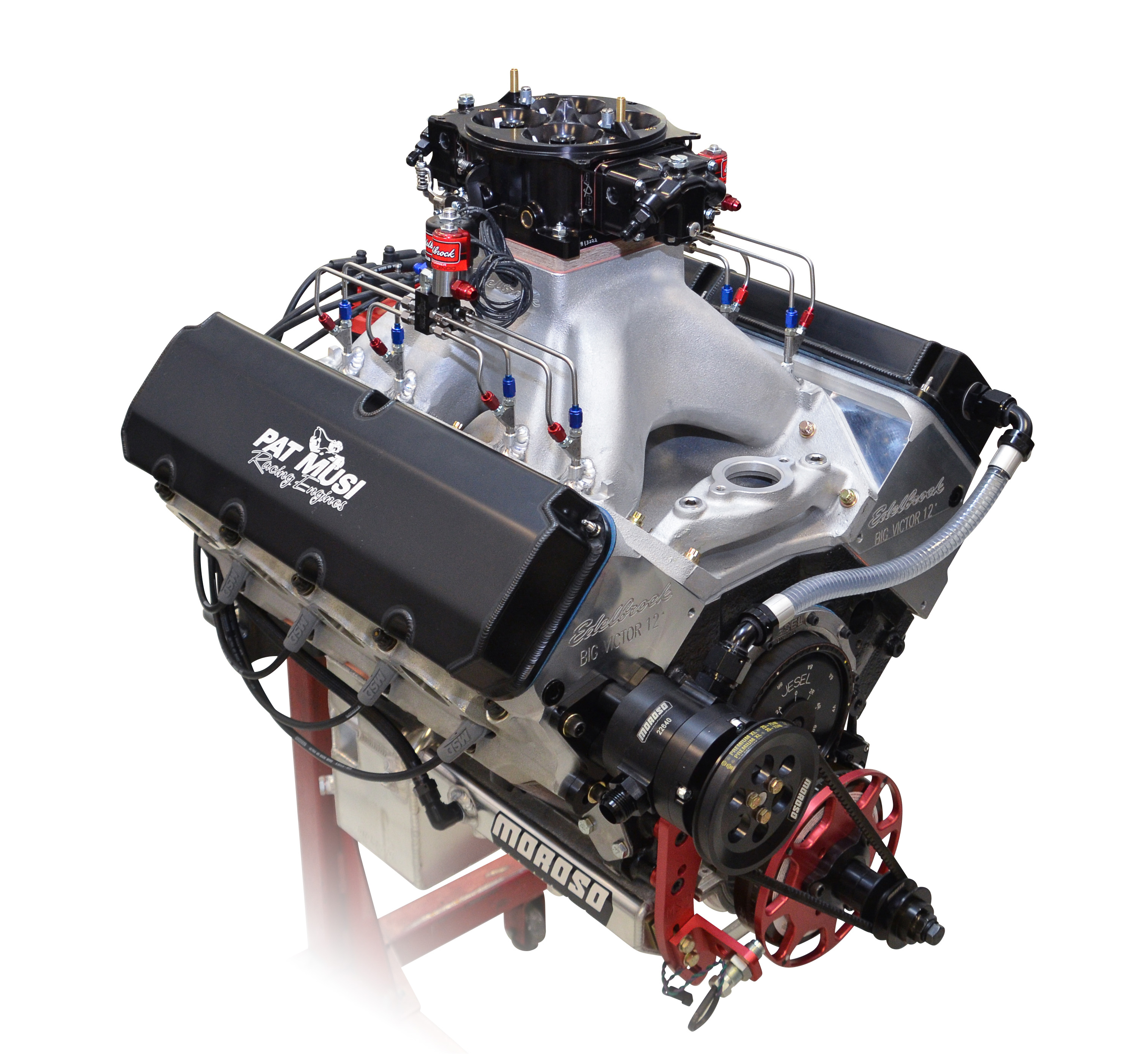 PRI 2018: Edelbrock and Pat Musi Team Up On 1,650hp Nitrous 632 Crate Motor For Sportsman Drag Racing