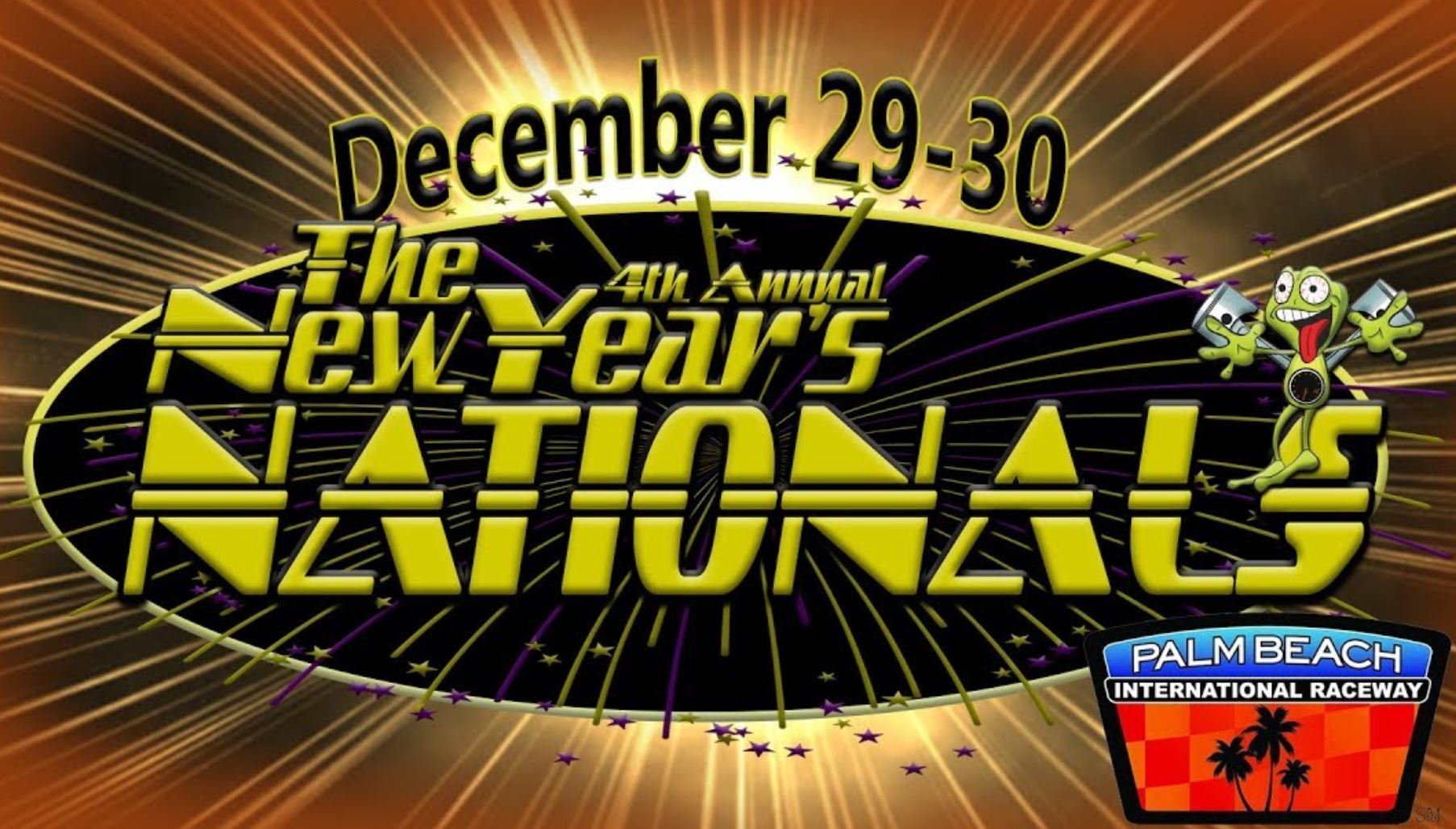 LIVE RACING VIDEO: The 4th Annual New Years Nationals From Palm Beach Florida