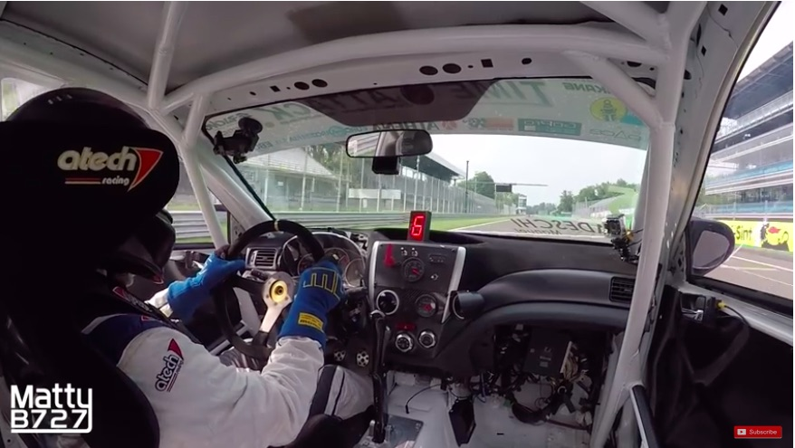 The American Powertrain Thursday Shift: Ride A Lap At Monza In A 600hp Dog Box Equipped WRX STI – Wowsers!