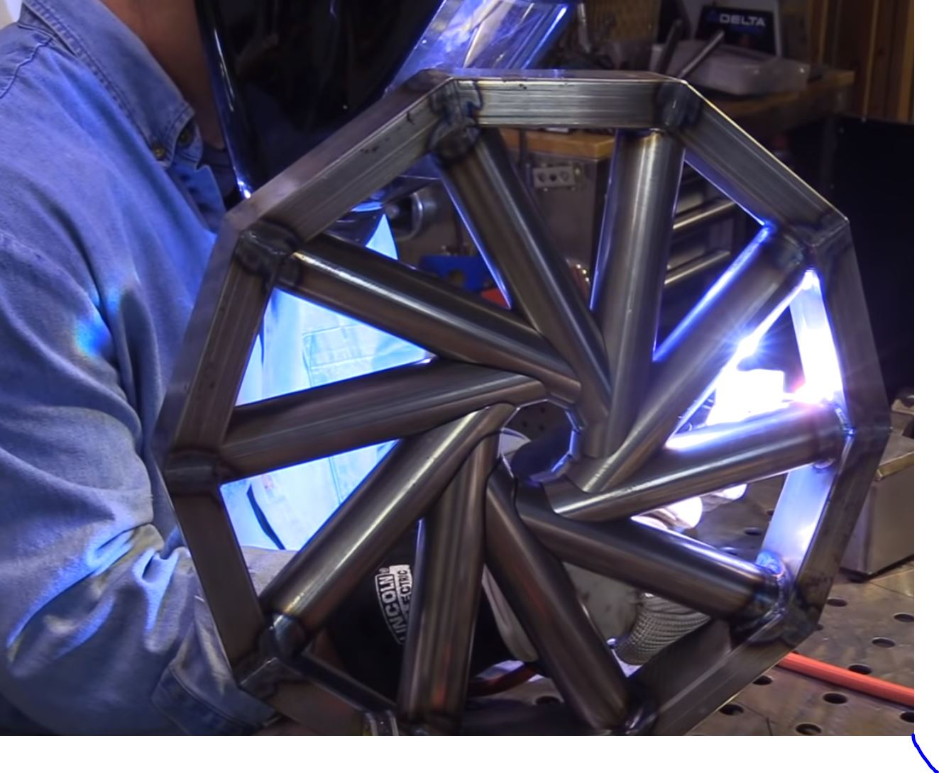 Wanna See Some Cool Welding? Check Out The Tube Hurricane TIG Challenge