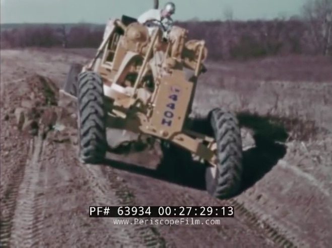 This 1960s WABCO Motor Grader Operator Film Is Retro Cool Heavy Equipment History