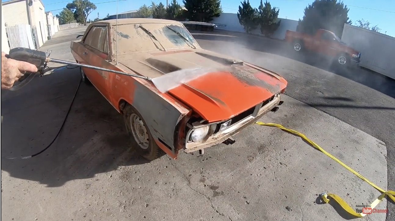 A Moment Of Zen: An Untouched Barn Find, And It's First Wash