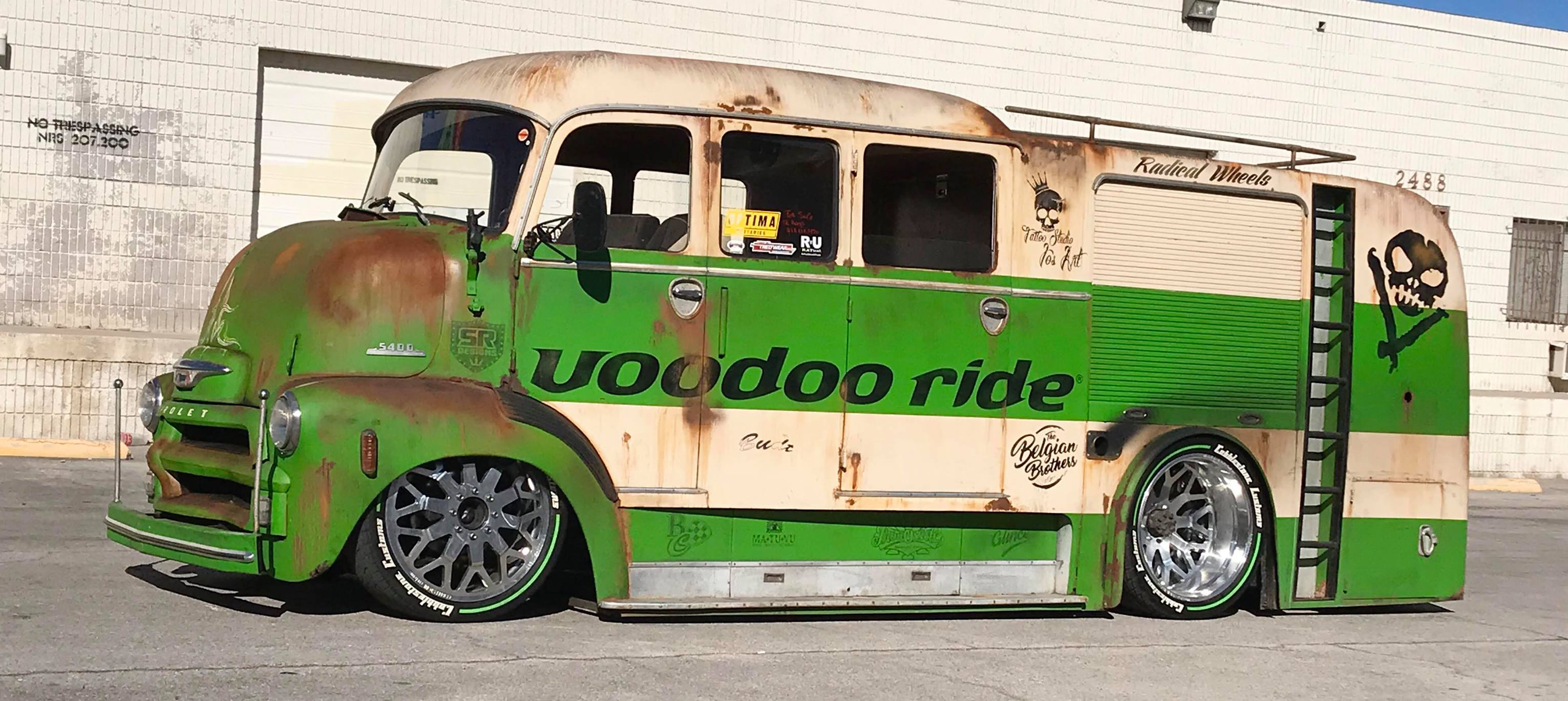 From Civil Servant To Slammed Super-Rig: This 1955 Chevrolet COE Gets Worked Over
