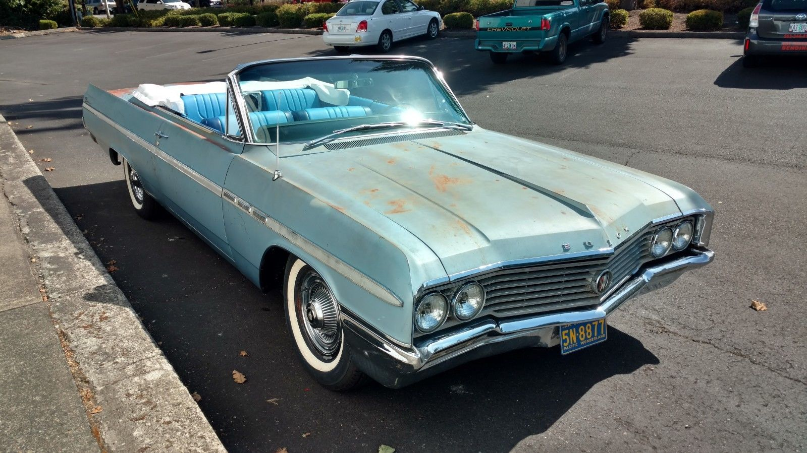 Do They Come Cooler Than This: 1964 LeSabre Convertible With A Cool Engine, New Parts, and Just Enough Rash To Rule