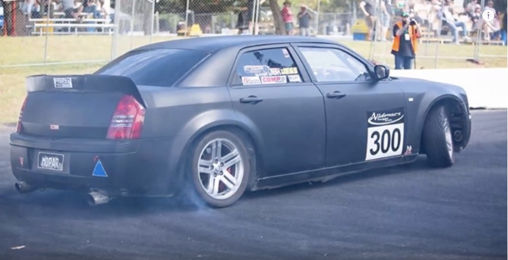 This ProCharged, Manual-Swapped Chrysler 300C's Hillclimb Story Is Too Cool!