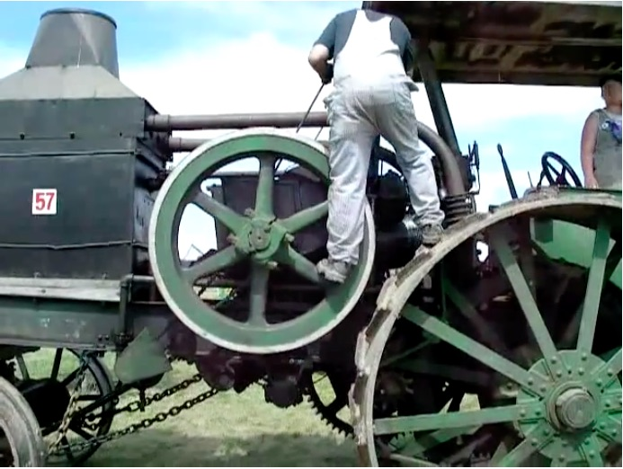 Safety Third: This Video Showing The Starting Process of A Rumley Oil Pull Tractor Is Insane