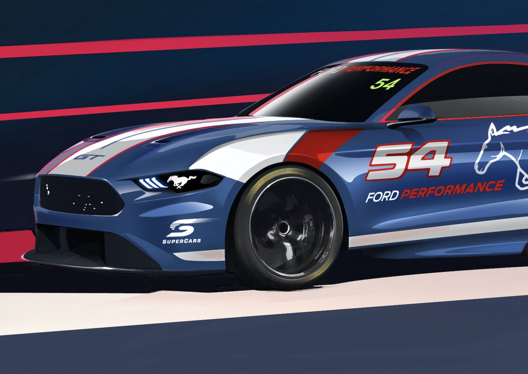 Approved: Ford Mustang To Replace Falcon For Next Season In Aussie Supercar Series