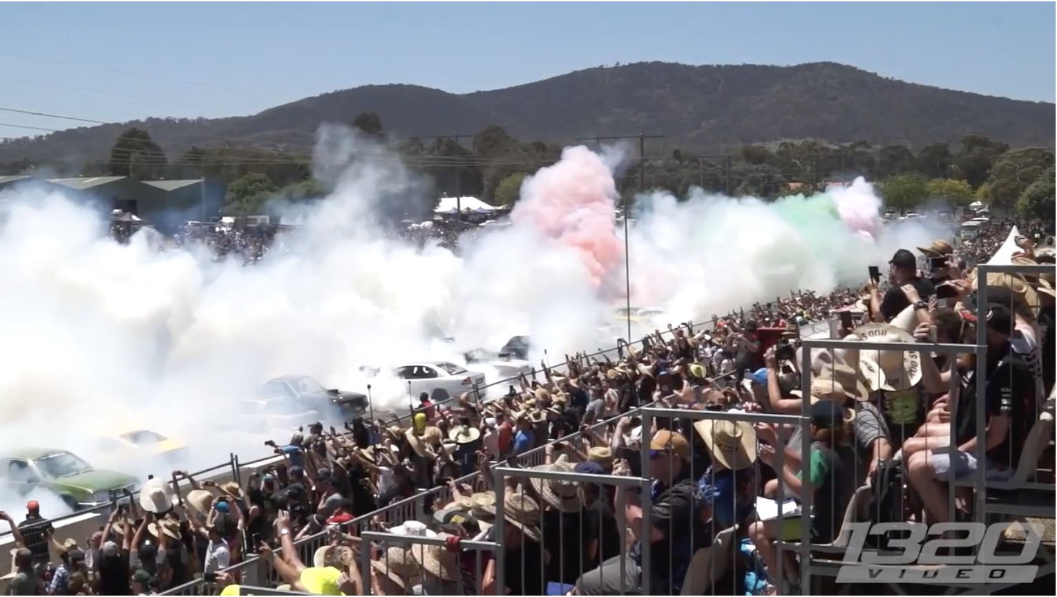 Making It Official Once Again: The World Record Australian Burnout At Summernats