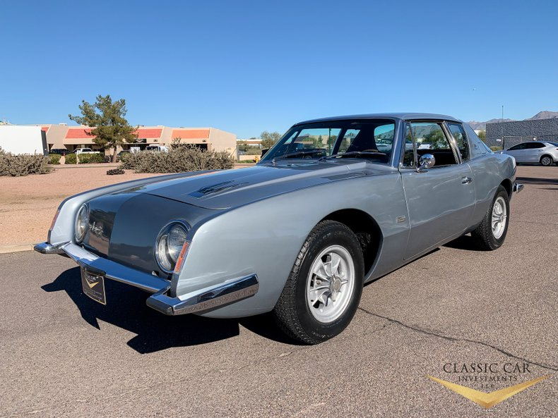 Money No Object: A 1963 Studebaker Avanti R1, Complete With It's Factory Option Halibrands!